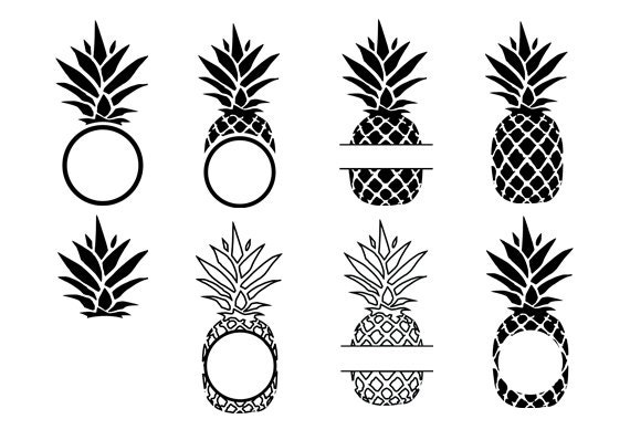 Download Pineapple svg,Pineapple vector graphic, Pineapple cut ...