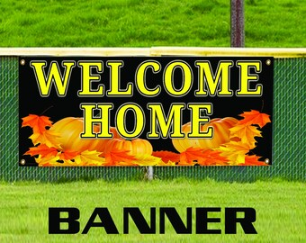 Welcome Home Business Advertising Real Estate Apartment Banner Sign