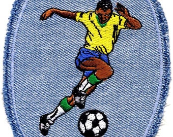 Football Soccer soccer Football jeans patch appliqué patch #9226