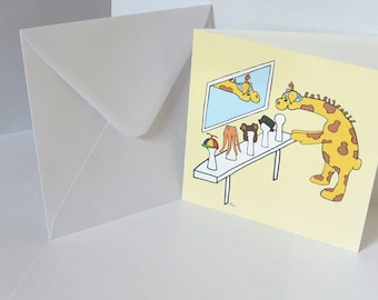 Greeting card for children with cancer