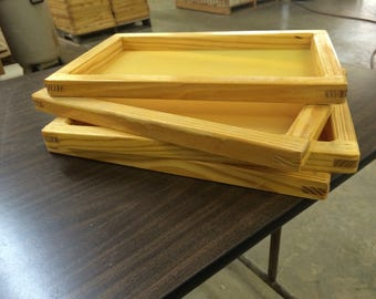 "SILK SCREEN FRAME for Screen Printing (12x16"") high quality mesh White or Yellow"