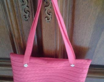 Pretty in pink zipper bag