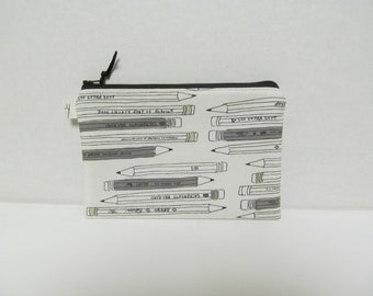 "Zipper Pouch/5.5""x8""/Pencil"