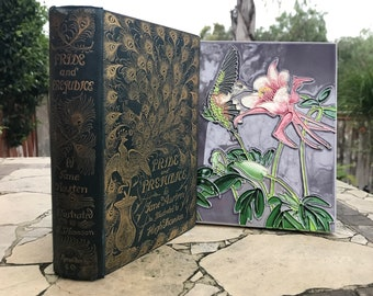 1894 Pride and Prejudice by Jane Austen and Illustrated by Hugh Thomson