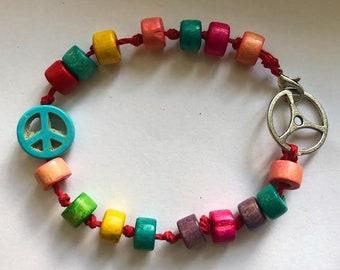 peace out bracelet