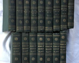 Works of George Eliot in Eighteen Volumes - 16 Volumes