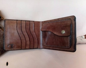 Men's leather wallet\leather wallet\portafoglio in cuoio\custom wallet\кожанный кошелек