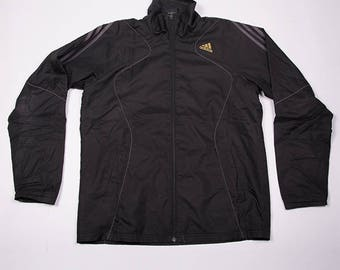 Vintage Adidas Climaproof Zip Up Windbreaker Jacket