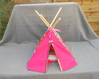 Teepee pig House of India, sleeping Bunny pillow, rabbit, pig bed of India, c