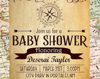 Baby Shower Invitation Explore theme