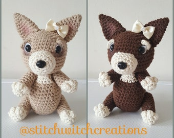 TRIXIE & COCOA the Chihauhaus Crochet Pattern - Amigurumi PDF Instant Download