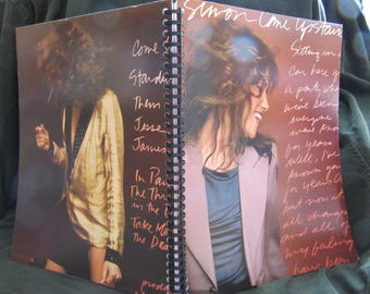 "Carly Simon ""Come Upstairs"" Album Cover Notebook"