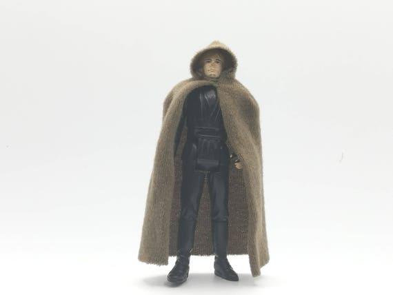 jedi luke skywalker original cape figure vintage star wars