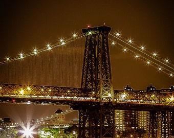 Williamsburg Bridge at Night