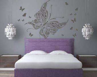 Wall sticker - Butterflies kingdom (3353n)