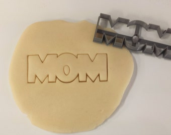 Mom, Mother's Day Cookie Cutter