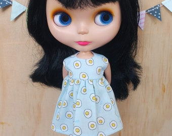 Blythe Dress - Fried Eggs