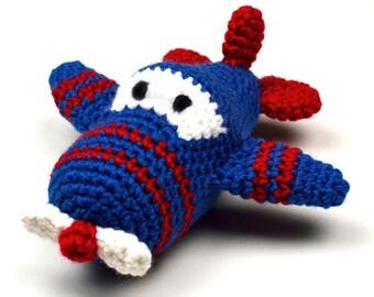 Ari the Airplane - PDF Crochet Pattern - Instant Download