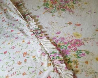Duvet cover Double sided duvet 100 percent cotton Vintage 88x86
