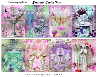 Enchanted Garden Tags