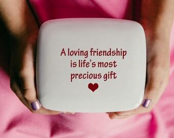 Best Friend Birthday Gift | Secret Box | Best Friend | Birthday gift for best friend | Handmade Ceramic from my Charleston, SC studio