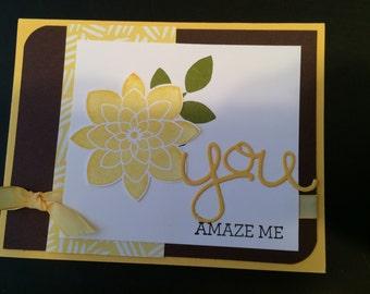Mellow Yellow Flower Card(s)