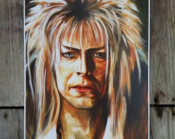 Labyrinth Jareth Goblin King David Bowie Art Print