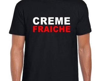 Creme Fraiche Mens/Adults Novelty Tshirt - Gift/Fancy Dress/Party Randy Marsh South Park