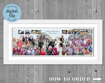 50th Anniversary Gift Photo  Collage for 50th wedding Anniversary 50th Anniversary Gift, Photo Montage 50th Wedding Anniversary