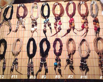 Suede Chokers #1-#8