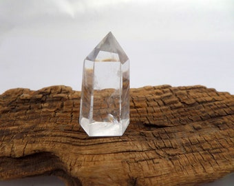 Natural Quartz Crystal Tower, Clear Quartz, Healing Crystal, Energy Crystal, Coletaylordesigns