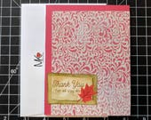 Autumn Thank You Cards (Set of 5)