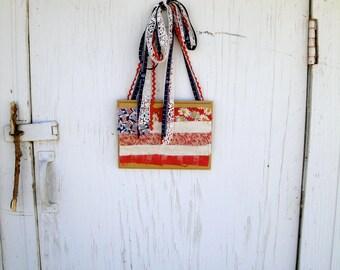 American Flag plaque hanger