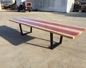 Long Redwood Table