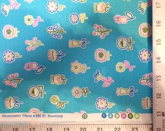 Summersault Flowerpop Erin McMorris Cotton Fabric #617