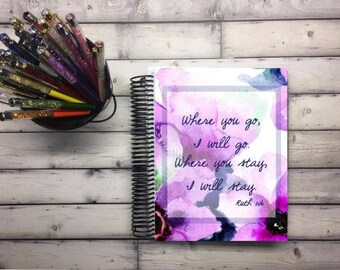 Laminated Planner Covers and Dashboards - Ruth 1:16