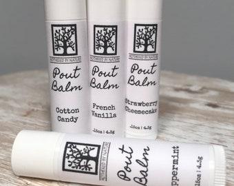 Vegan Lip Balm, Lip Balm, Gifts for her, Vegan Chapstick, Moisturizing lip balm
