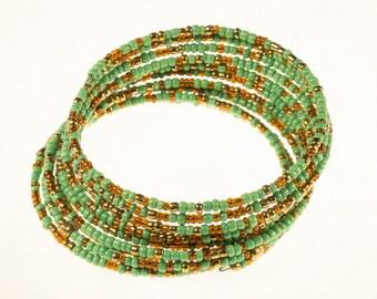 Green Twirl Bracelet