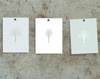 Image d'impression-l'hiver-hiver-mur décor-poster-arbre-art imprimé