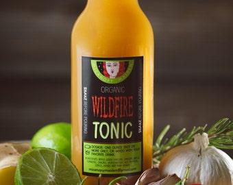 Medicinal - Get Well Soon- Apple Cider Vinegar - Natural Cures- Health Vinegar Tonic - Raw Honey Drink - Ginger Cure - Tonic