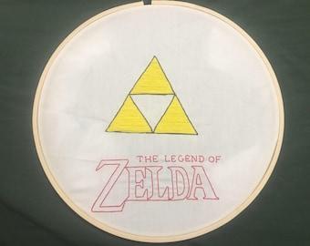 Legend of Zelda Embroidery