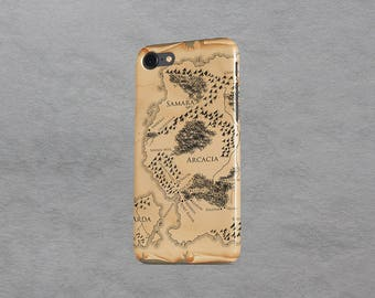 Ilyon Chronicles Map iPhone Case