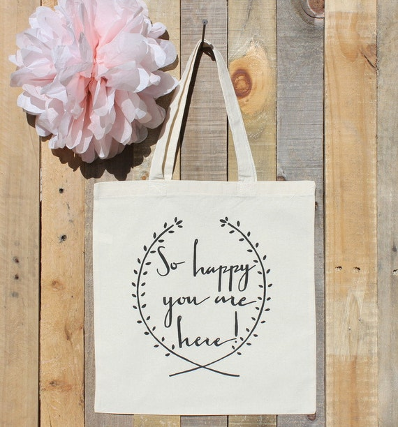 Welcome To Our Wedding Gift Tote Bag For Out Of Town Guests