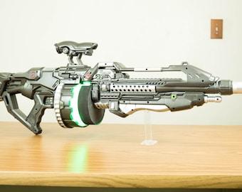 Light Up Sci-fi Rifle Prop Gun (Firefly, Star Wars, Star Trek, Babylon 5)
