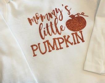 Mommy's Little Pumpkin Onesie