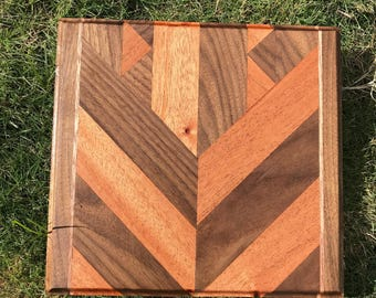 Arrow Pattern Custom Handmade Cutting Board