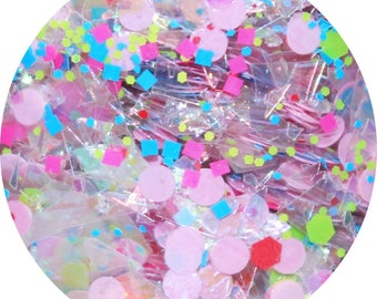 Rainbows And Cupcakes | Body, Face, Hair Glitter | For Festival, Rave, Cosplay, Dressup Party, Music Festival | Festival Body Glitter