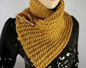 KNITTING PATTERN SCARF Boston Scarf Cowl Pattern Instant Download Tutorial with Pictures step by step Twist Rib Stitch Boston Scarf Pattern