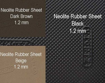 Neolite Rubber Sheets for Shoes, Sole Shoe, Sole Shoe Repair 1.2 mm, Outer Shoes Soling Sheet,