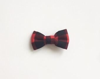 Buffalo Plaid Bow tie